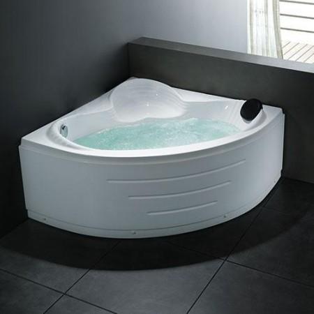 Hjørne badekar