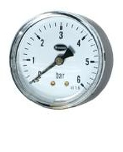 "MANOMETER 1/4"" X 63 MM 0-6 BAR"